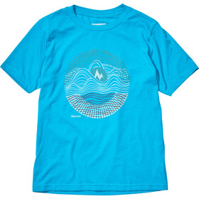 Marmot Nico T-shirt Fille, ceramic blue